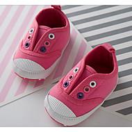 Bebê sapatos Lona Primavera Outono Conforto Primeiros Passos Tênis Para Casual Branco Vermelho Azul Rosa claro
