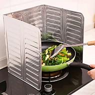 алюминиевая фольга кухня приготовление сковорода масляный брызг анти брызги защитный экран