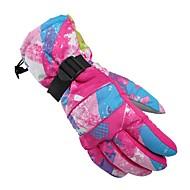 Skihandschoenen Dames Lange Vinger Houd Warm waterdicht Winddicht Ademend Vezel Fietsen/Fietsen Sneeuwsporten Winter