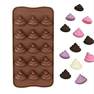 Cake Moulds Sjokolade Silika Gel Høy kvalitet Non-Stick