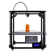 flsun cube 3d impressora grande área de impressão 260 * 260 * 350mm auto nivelamento cama aquecida de dois filamentos de filamentos grátis