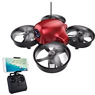 RC Dron DMRC DM107S 4Kanály 6 Osy 2.4G S HD kamerou 0.3MP 640P*480P RC kvadrikoptéra LED osvětlení / Auto-Vzlet / Headless Režim RC