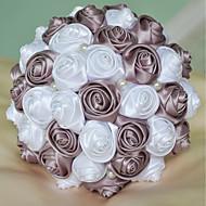 Wedding Flowers Bouquets Foam Satin 709Approx18cm