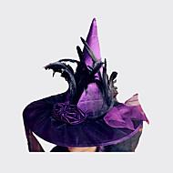 halloween heks hatten for Halloween kostyme tilbehør hatter drakt partiet props scenen cosplay suppllies
