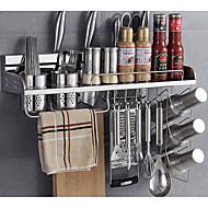 billiga Köksförvaring-1st Plattskivor Rostfritt stål Lätt att använda Kök Organisation