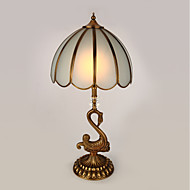 billige Lamper-Traditionel / Klassisk Mini Stil Bordlampe Til Metall 110-120V 220-240V Gylden