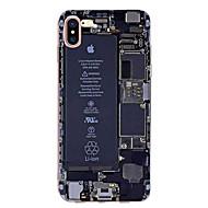 Etui Käyttötarkoitus Apple iPhone X iPhone 8 iPhone 7 iPhone 7 Plus iPhone 6 Ultraohut Kuvio Takakuori Sana / lause Pehmeä TPU varten