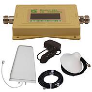 mini intelligent LCD-skjerm 4g980 2600mhz mobiltelefon signal booster repeater med utendørs logg periodisk antenne / innendørs tak antenne