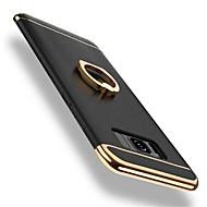 Capinha Para Samsung Galaxy S8 Plus S8 Antichoque Galvanizado Suporte para Alianças Rotação 360° Capa Traseira Côr Sólida Rígida PC para