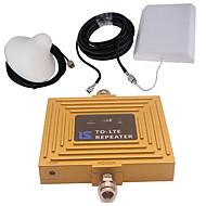 gull intelligent lcd display 4g 2600mhz mobiltelefon signal booster repeater med utendørs panel antenne / innendørs omni antenne