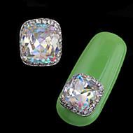 halpa -2 kpl ylellistä setti-auger-metalliseos koru nail art decoration