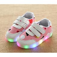Mädchen Schuhe Leinwand Winter Herbst Komfort Sneakers Walking Klettverschluss für Normal Grau Blau Rosa