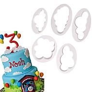 billige Bakeredskap-Bakeware verktøy Plastikker baking Tool Dagligdags Brug Cake Moulds 1set