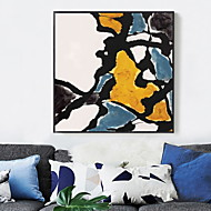cheap Prints-Cartoon Oil Painting Wall Art,Alloy Material With Frame For Home Decoration Frame Art Living Room