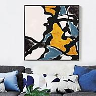 billige Innrammet kunst-Tegneserie Olje Maleri Veggkunst,Legering Materiale med ramme For Hjem Dekor Rammekunst Stue