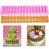 billige Bakeredskap-Bakeware verktøy silica Gel baking Tool Dagligdags Brug Rektangulær Cake Moulds 1pc