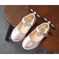 Χαμηλού Κόστους Παιδικά Μοδάτα Ρούχα-Κοριτσίστικα Παπούτσια Δερματίνη Άνοιξη Ανατομικό / Μπότες Μάχης / Λουλουδάτα φορέματα για κορίτσια Χωρίς Τακούνι Περπάτημα Αγκράφα για