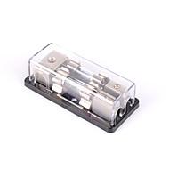 baratos -2 vias / 2x agu em linha de fusível suporte bloco de distribuição estéreo / áudio / carro 60a