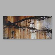 זול ציורי שמן-מצויר ביד מופשט אופקי, מודרני בַּד ציור שמן צבוע-Hang קישוט הבית פנל אחד