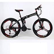 Bicicleta De Montanha / Folding Bikes Ciclismo 21 velocidade 26 polegadas/700CC 70 milímetros Unissex Adulto SHIMANO Freio a Disco Duplo