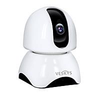 billige IP-kameraer-VESKYS 2.0 MP Innendørs with IR-kutt 128(Innebygd høyttaler Innebygget mikrofon Dag Nat Bevegelsessensor Fjernadgang Plug and play IR-klip