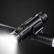 billige Sykkellykter og reflekser-LED Lommelygter / Frontlys til sykkel Sykkellykter Sykling Vannavvisende, Sttiv med adapter Lithium Usb Sykling - ROCKBROS