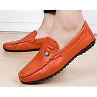 Homme Chaussures Similicuir Printemps Automne Confort Mocassins et Chaussons+D6148 pour Décontracté Blanc Noir Jaune