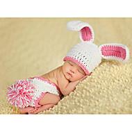 Baby Pige Aktiv Ensfarvet Uden ærmer Tøjsæt