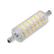 billige -1pc 6W 500-600lm R7S LED-kornpærer 72 LED SMD 2835 LED Lys Dekorativ Varm hvit 2800-3200K AC 220-240V