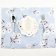 billige Bordduker-Elegant Bomull/Polyester Rektangulær Bordskånere Borddekorasjoner