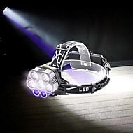 저렴한 -U'King 헤드램프 샹들리에 LED 6000 lm 6 모드 LED 휴대용 견고함 캠핑/등산/동굴탐험 일상용 사이클링 사냥 낚시
