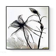 billige Innrammet kunst-Blomstret/Botanisk Veggkunst,Polystyrene Materiale med ramme For Hjem Dekor Rammekunst Stue