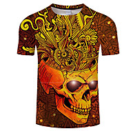Majica s rukavima Muškarci Print Okrugli izrez