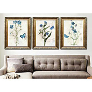cheap Framed Arts-Floral/Botanical Wall Art,PS Material With Frame For Home Decoration Frame Art Living Room Bedroom