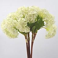 billige Kunstig Blomst-Kunstige blomster 3 Afdeling pastorale stil Hortensiaer Bordblomst