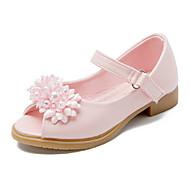 baratos Sapatos de Menina-Para Meninas Sapatos Couro Ecológico Primavera / Verão Conforto / Inovador / Sapatos para Daminhas de Honra Saltos Miçangas / Apliques /