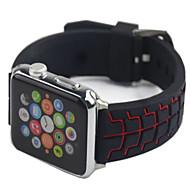 billiga Smart klocka Tillbehör-Klockarmband för Apple Watch Series 4/3/2/1 Apple Sportband Silikon Handledsrem