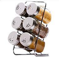 billiga Köksförvaring-Rostfritt Stål Kreativ Köksredskap Köksredskap 7pcs Kök Organisation