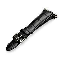 billiga Smart klocka Tillbehör-Klockarmband för Apple Watch Series 3 Apple Klassiskt spänne Läder Handledsrem