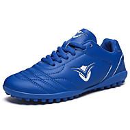 baratos Sapatos de Menina-Para Meninas Sapatos Micofibra Sintética PU Primavera / Outono Conforto Tênis Futebol para Amarelo / Verde Claro / Azul Real / Listrado
