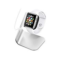 billiga Smart klocka Tillbehör-Apple Watch Stativ med adapter Aluminum Skrivbord