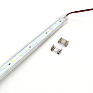 billiga Belysning-zdm 50cm 7w 36st 8520 smd 600-700lm varm vit kall vit ljus förtjockad aluminium skal hård lampa bar (dc12v)