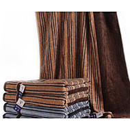 baratos Toalha de Banho-Estilo fresco Toalha de Banho,Listrada Qualidade superior Algodão Puro Tecido Simples Toalha