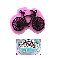 billige Bakeredskap-sykkel form fondant kake silikon molds godteri kjeks preget mold cookie diy dekorere verktøy