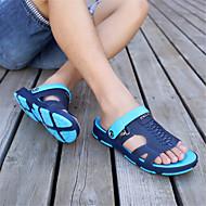 お買い得  メンズスリッパ&ビーチサンダル-男性用 靴 オーダーメイド素材 夏 コンフォートシューズ スリッパ&フリップ・フロップ グレー / コーヒー / グリーン