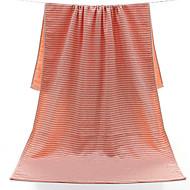 tanie Ręcznik kąpielowy-Świeży styl Ręcznik kąpielowy, Naszywka Najwyższa jakość Czysta bawełna Równina Ręcznik