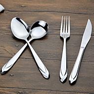 cheap Dinnerware-4pcs Stainless Steel SetforDinnerware 20.5*2;20.5*2;19*2;23*2