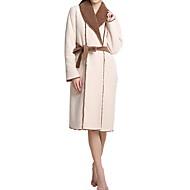 billige Badekåper-Fersk stil badekåpe, solid overlegen kvalitet 100% polyester 100% polyesterhåndkle