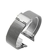 billiga Smart klocka Tillbehör-Klockarmband för Apple Watch Series 3 / 2 / 1 Apple Sportband Stål Handledsrem