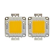 preiswerte LED Zubehör-2pcs 8000 LED Chip Messing Glühbirne Zubehör 100W